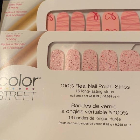 Color Street Makeup Color Steet Breast Cancer Awareness Bundle Poshmark